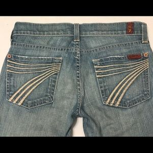 7 For All Mankind Dojo Capri Jeans